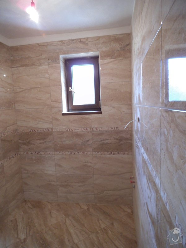 Rekonstrukce koupelny a záchodu: 1