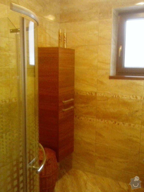 Rekonstrukce koupelny a záchodu: d