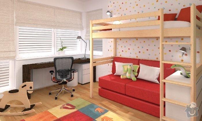 Návrh dětského pokojíčku a ložnice: detsky_pokoj_01_KARASOVA