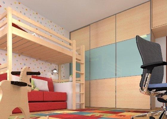 Návrh dětského pokojíčku a ložnice