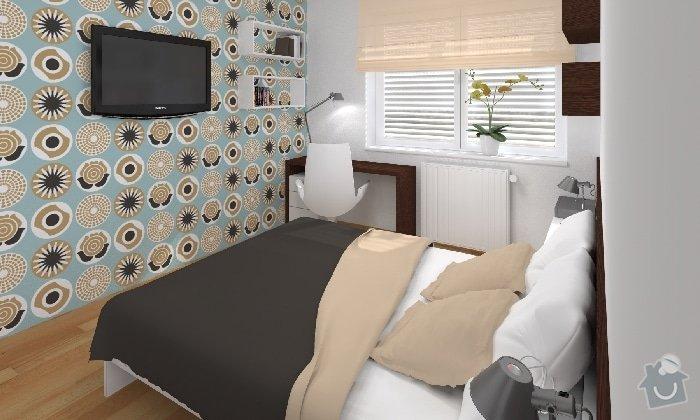 Návrh dětského pokojíčku a ložnice: loznice_03_KARASOVA