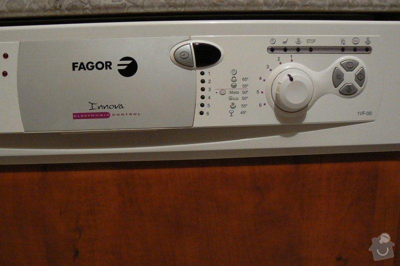 Oprava myčka fagor: P1220277