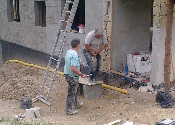 Výstavba rodinné rezidence