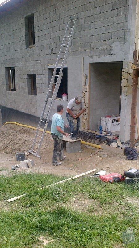 Výstavba rodinné rezidence: 2014-08-29-2827