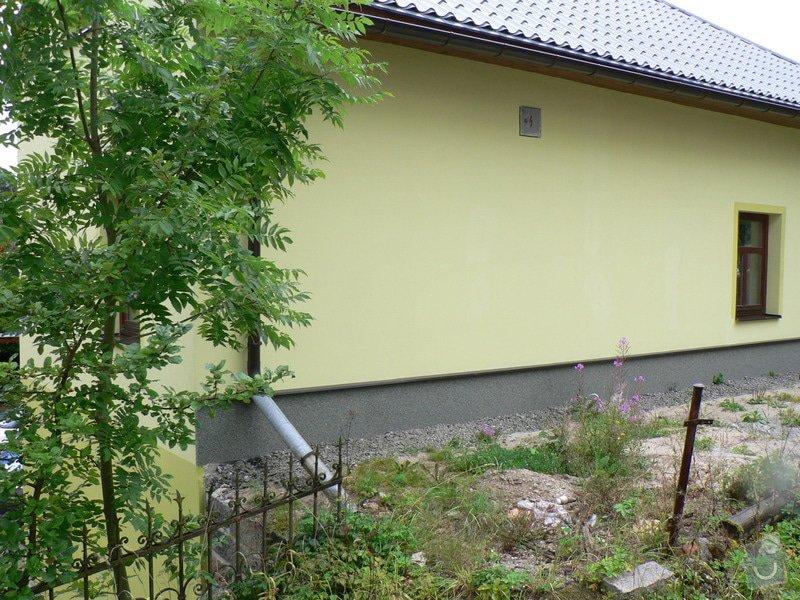 Fasáda, vyztužení rodinného domu a klempířské práce: P1170665