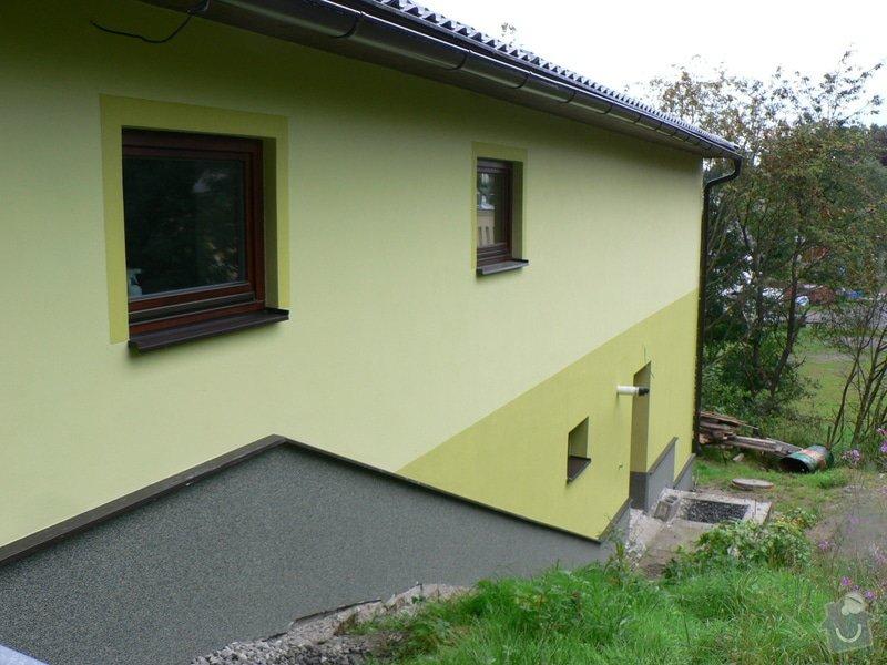 Fasáda, vyztužení rodinného domu a klempířské práce: P1170668