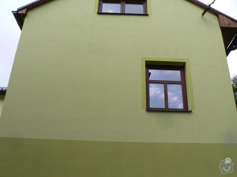 Fasáda, vyztužení rodinného domu a klempířské práce: P1170670