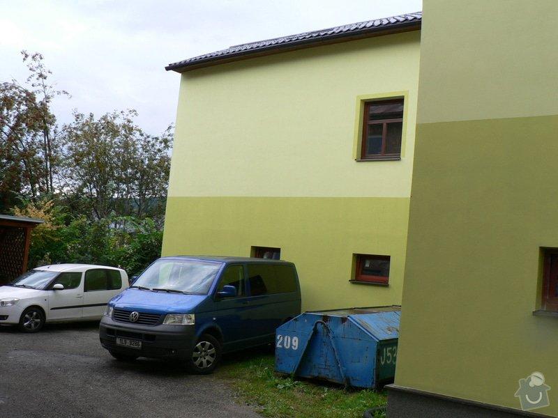 Fasáda, vyztužení rodinného domu a klempířské práce: P1170671