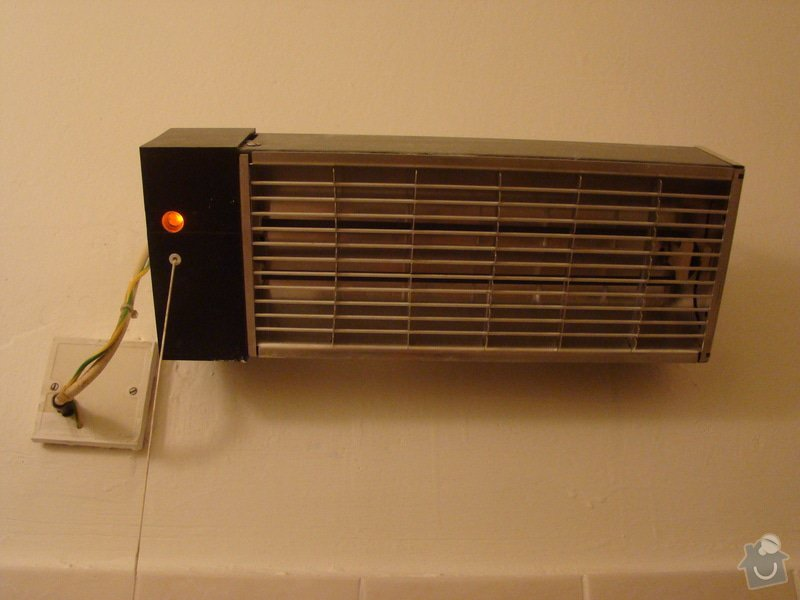 Oprava koupelnového infrazářiče, příp. jeho výměna : DSC06658
