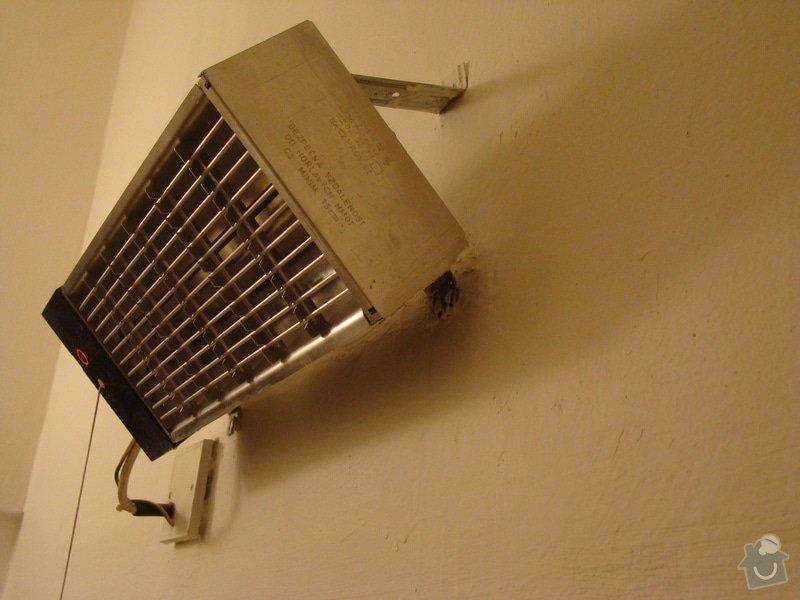 Oprava koupelnového infrazářiče, příp. jeho výměna : DSC06659