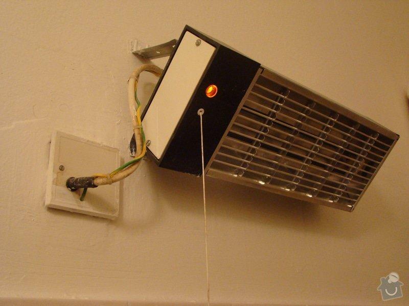 Oprava koupelnového infrazářiče, příp. jeho výměna : DSC06660