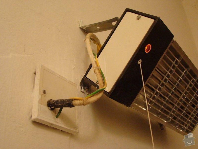 Oprava koupelnového infrazářiče, příp. jeho výměna : DSC06661