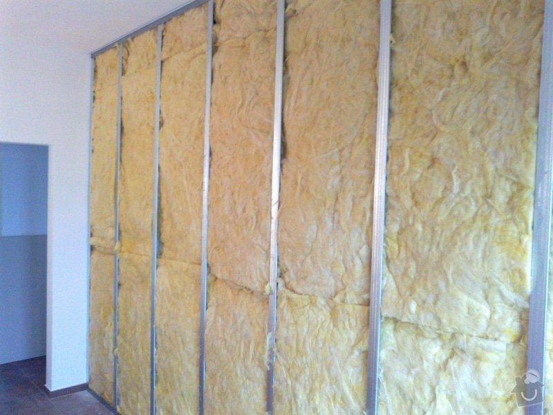 Podkroví-vytvoření 3 pokojů a koupelny: 01112014774