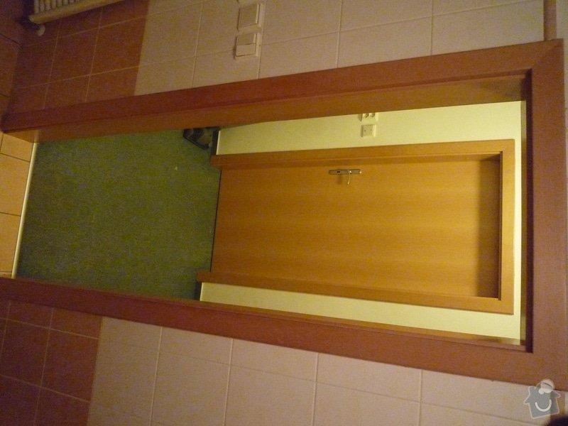 Stavební práce na klíč - rozšíření dveří do koupelny: P1000483