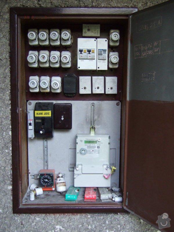 Revize elektroinstalace v rodinném domě: DSCF0002