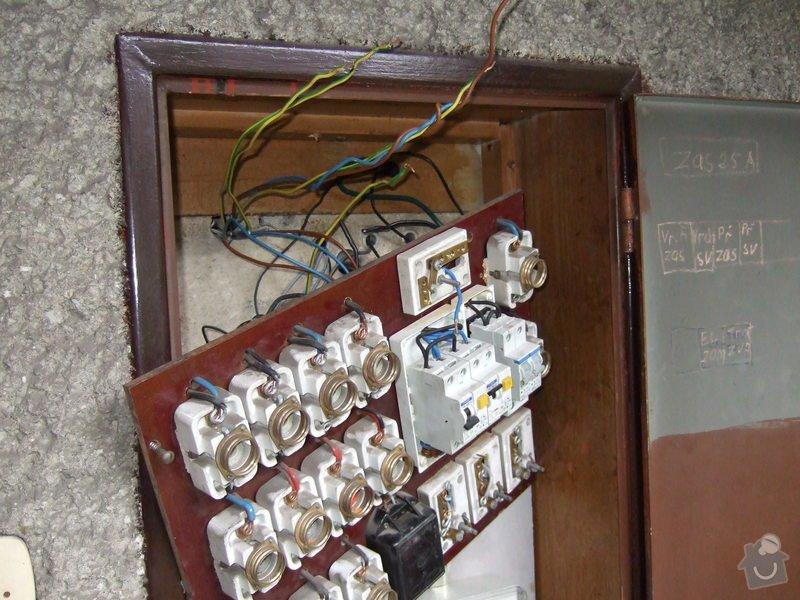 Revize elektroinstalace v rodinném domě: DSCF0014