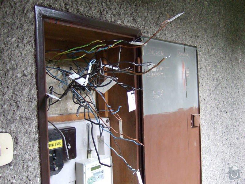 Revize elektroinstalace v rodinném domě: DSCF0019