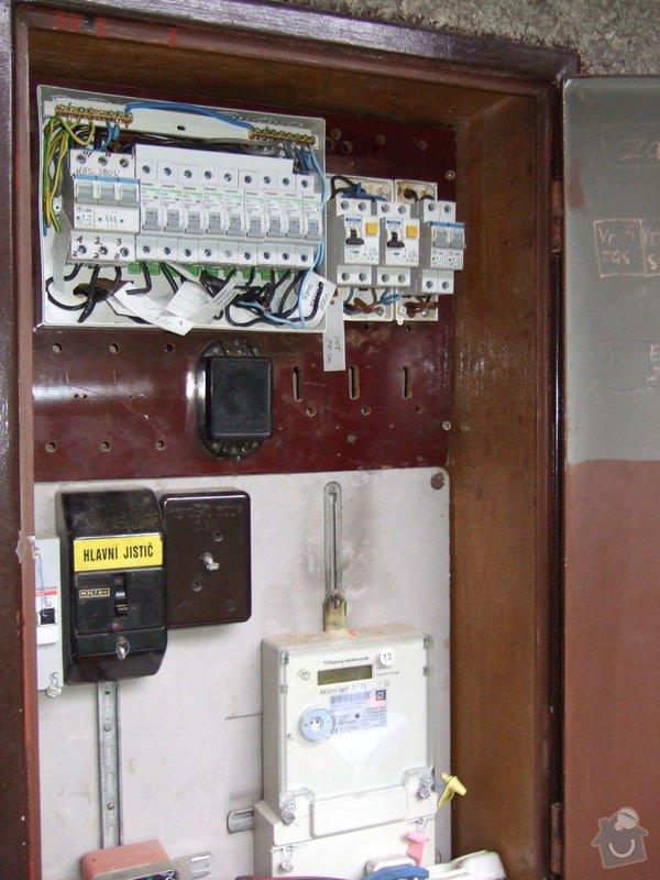 Revize elektroinstalace v rodinném domě: DSCF0024