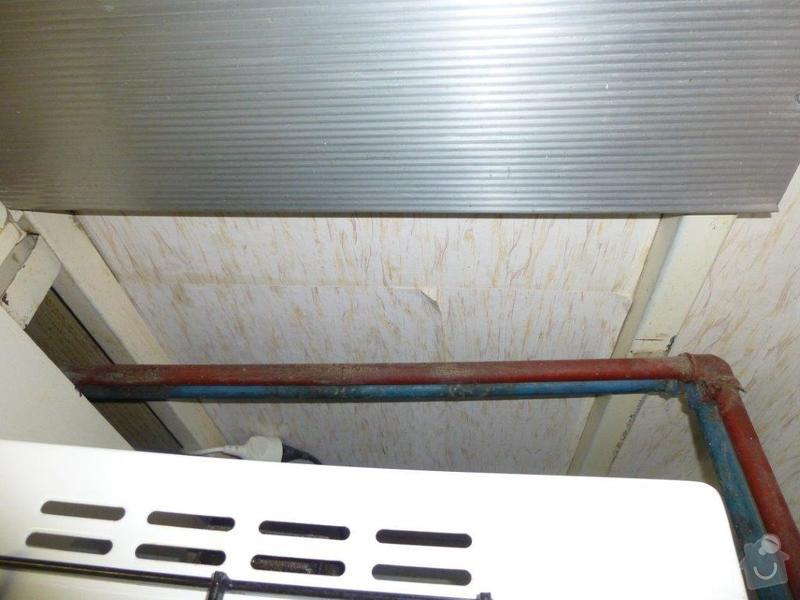 Výměna kovového ležatého rozvodu vody v panelovém bytě. : P1060145