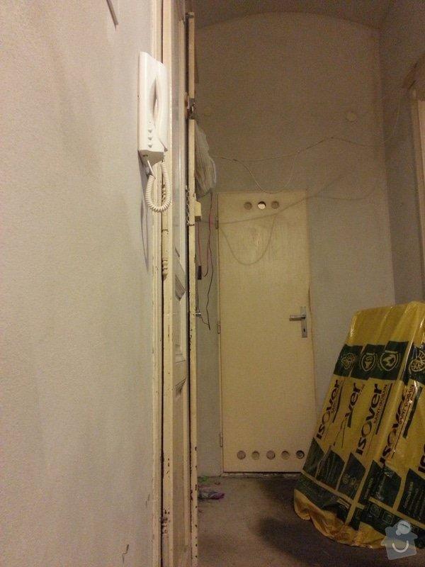 Narovnání dřevěných dveří: 20141207_144017