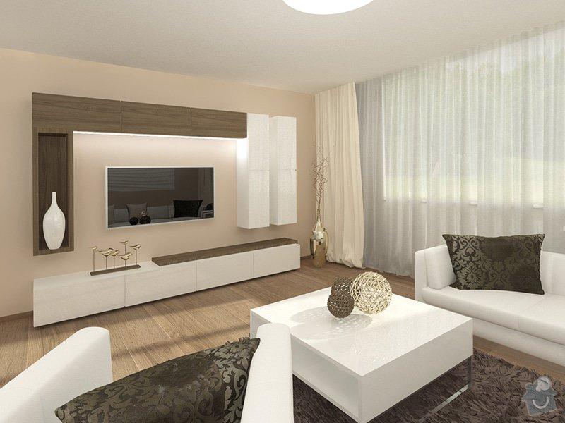 Návrh rekonstrukce interiéru RD: 2_-_moderni_obyvaci_pokoj_-_sestava_-_Karasova