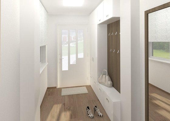 Návrh rekonstrukce interiéru RD