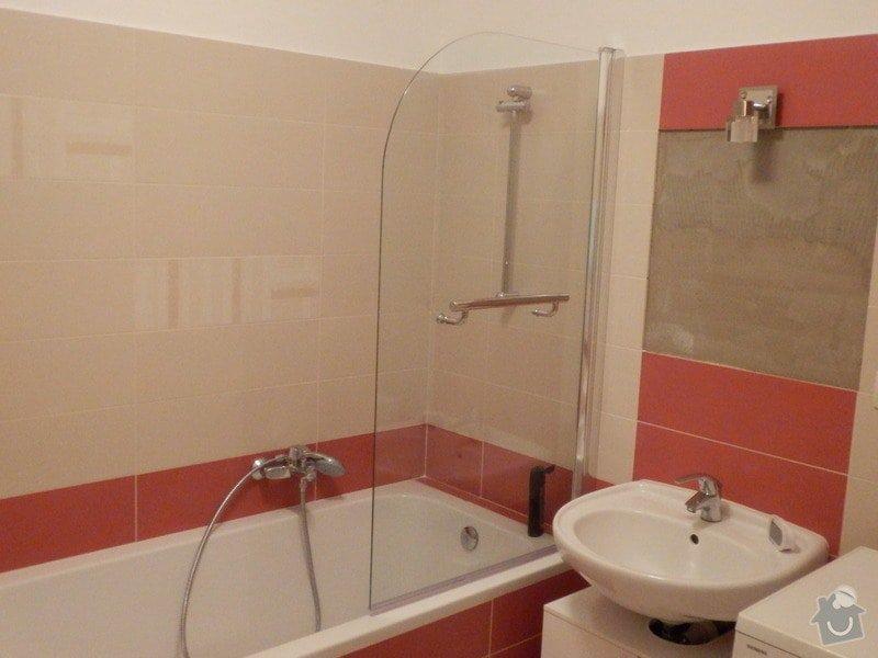 Obklad koupelny obkladačkami cca. 15m2: PC073698