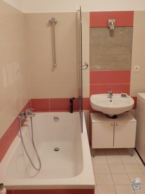 Obklad koupelny obkladačkami cca. 15m2: PC073699