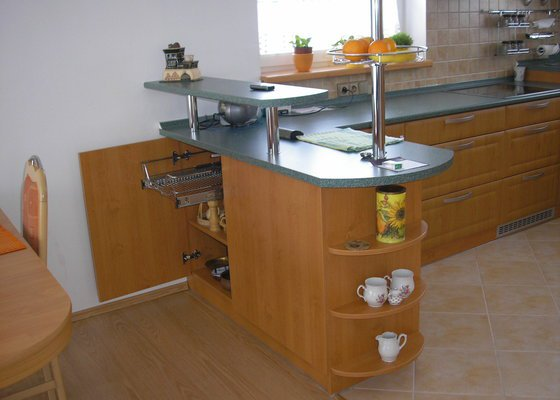 Výroba a montáž kuchyně