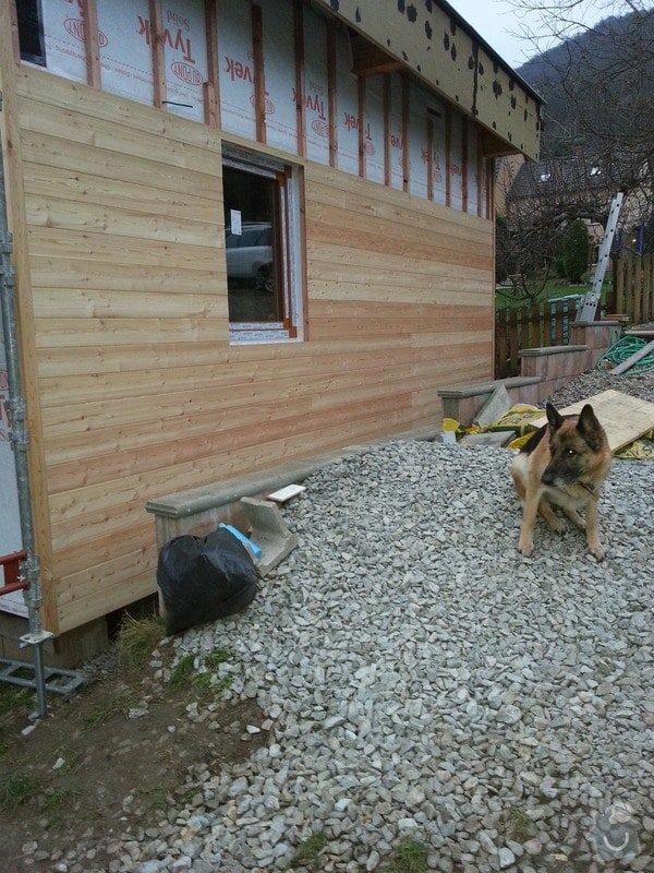 Obklad dřevostavby fasádní palubky 120m2 : fasada_palubky
