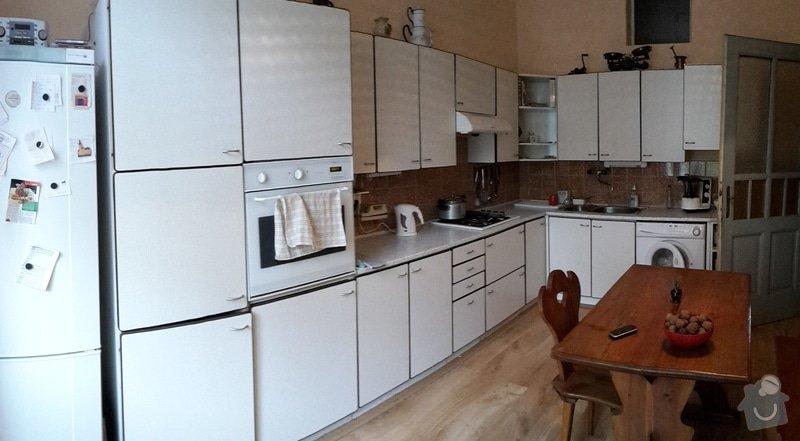 Zednické práce v bytě 2+1, 65 m2: kuchyn