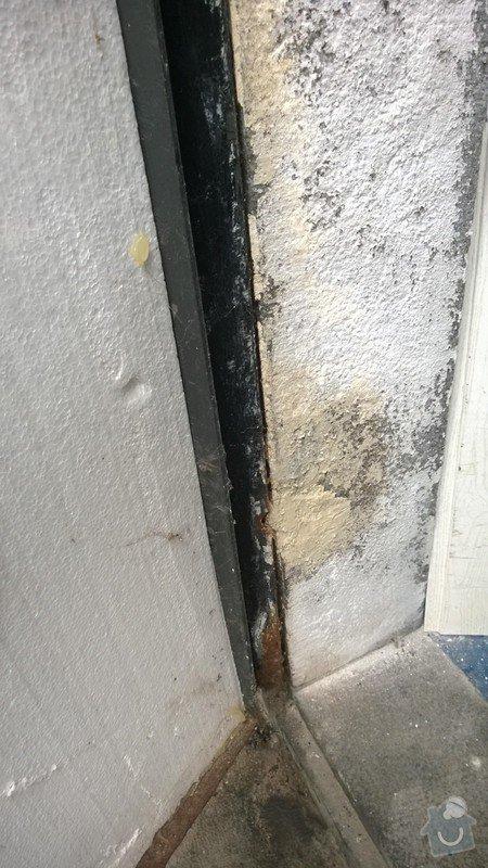 Oprava kovových dveří a rámu: WP_20141207_002