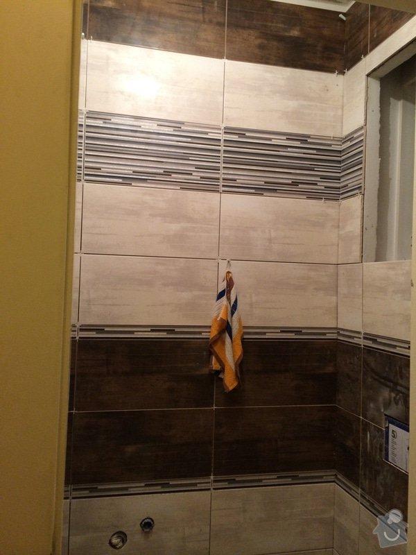 Pokládka obkladů (cca 26m2) a dlažby (7m2) v koupelně, WC a v předsíni: IMG_3681