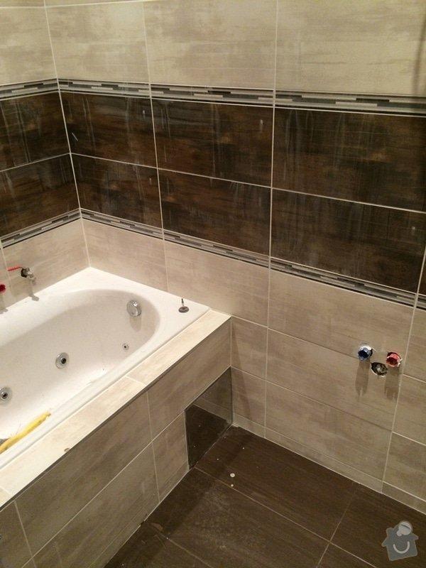 Pokládka obkladů (cca 26m2) a dlažby (7m2) v koupelně, WC a v předsíni: IMG_3749