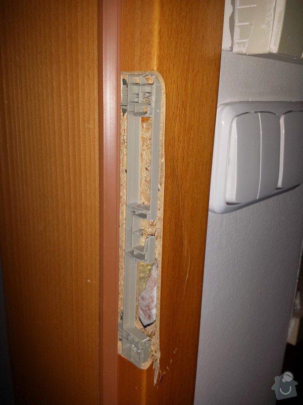 Drobná oprava (úprava) poškozené dřevené zárubně: IMG_20141210_213841