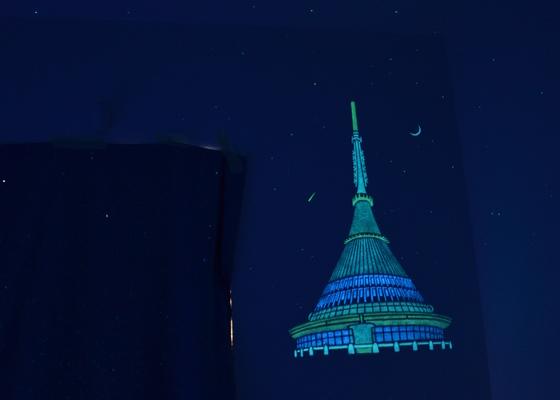 Malba nočního nebe