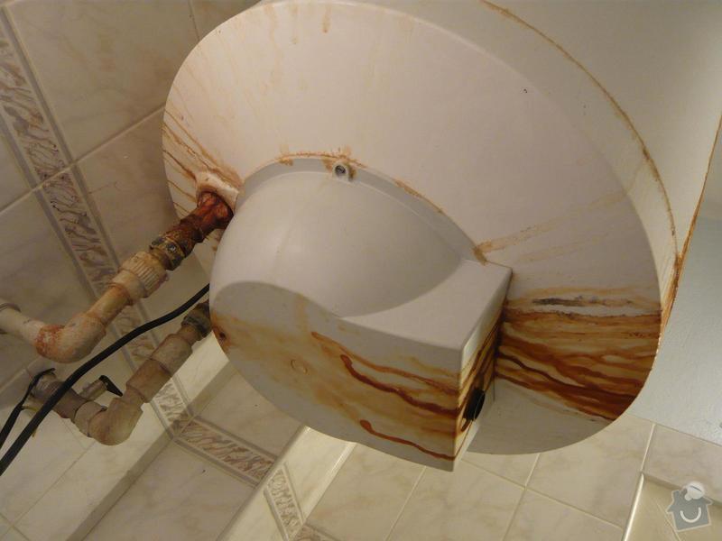 Výměna/instalace bojleru, odvoz starého: 4