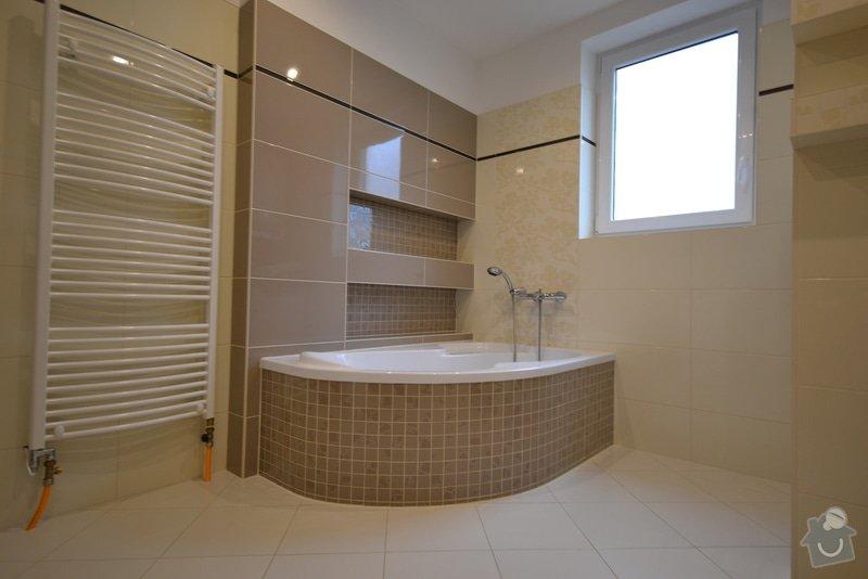 Realizace koupelny a Wc v novostavbě: Vlkose_3_