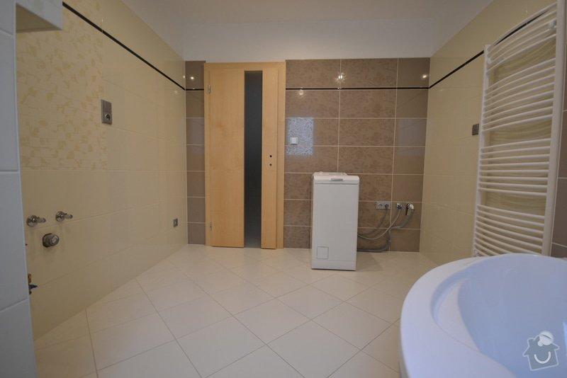 Realizace koupelny a Wc v novostavbě: Vlkose_4_