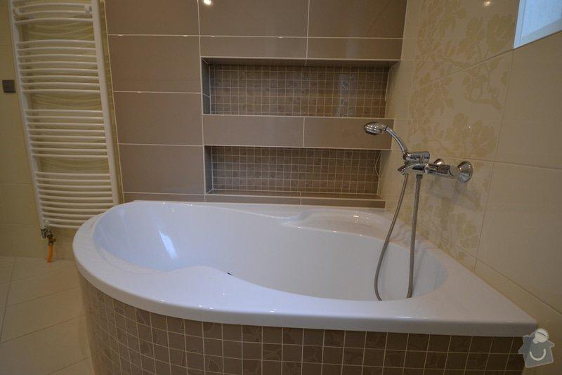 Realizace koupelny a Wc v novostavbě: Vlkose_12_