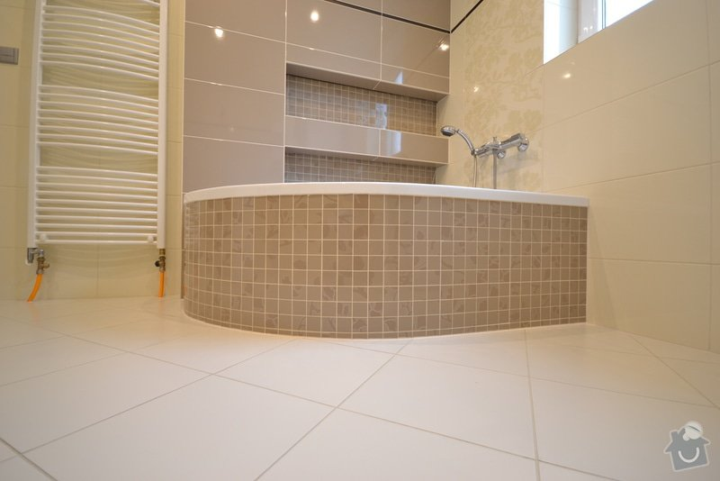 Realizace koupelny a Wc v novostavbě: Vlkose_14_