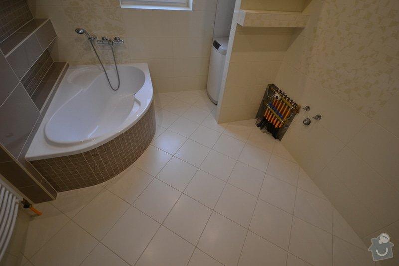 Realizace koupelny a Wc v novostavbě: Vlkose_18_