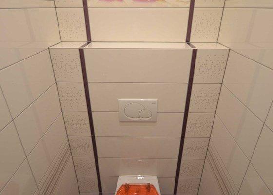 Realizace koupelny a Wc v novostavbě