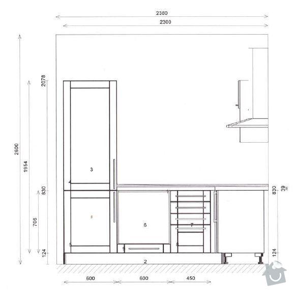 Montáž obkladů (skleněná mozaika): K-LS