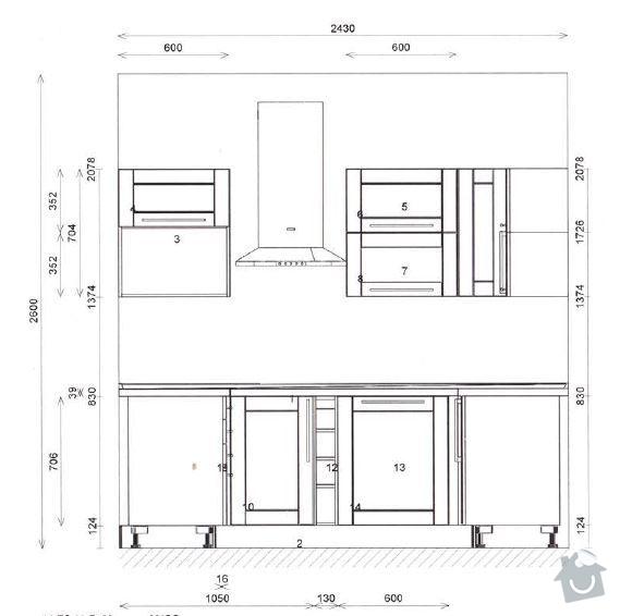 Montáž obkladů (skleněná mozaika): K-Predek