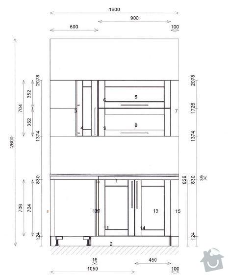 Montáž obkladů (skleněná mozaika): K-PS