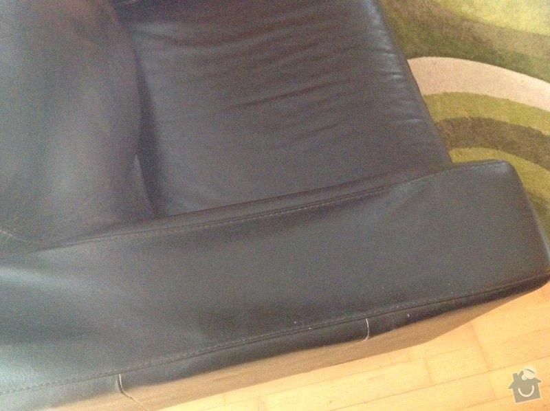 Opravu sedačky: sedacka