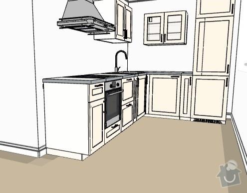 Zhotovení kuchyňské linky: kuchyn