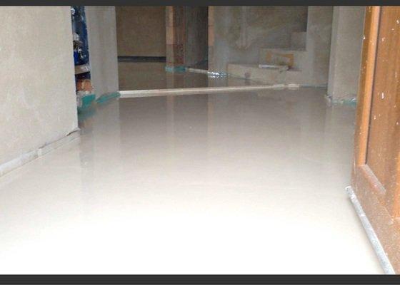 Pokládka anhydritové podlahy