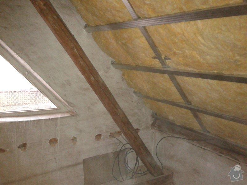 Zateplení šikmé střechy : 20141201_141310
